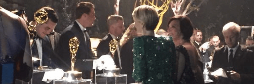 Emmys engraved award