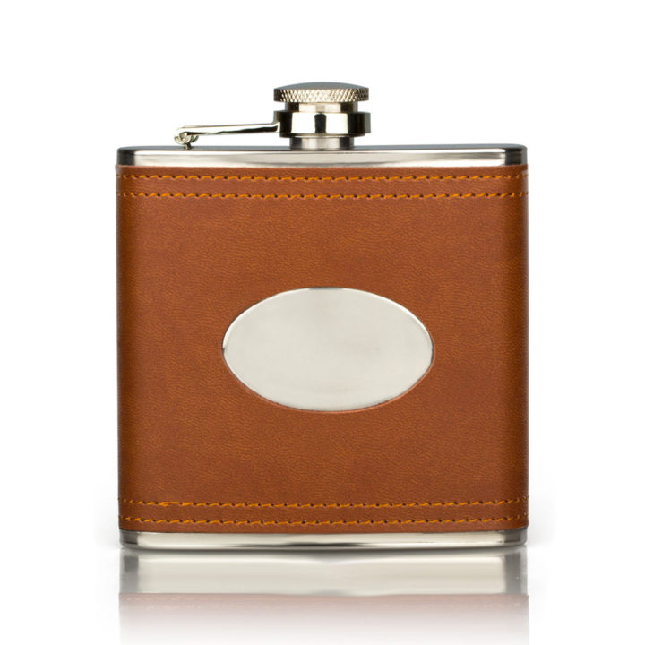 brown-leather-hip-flask
