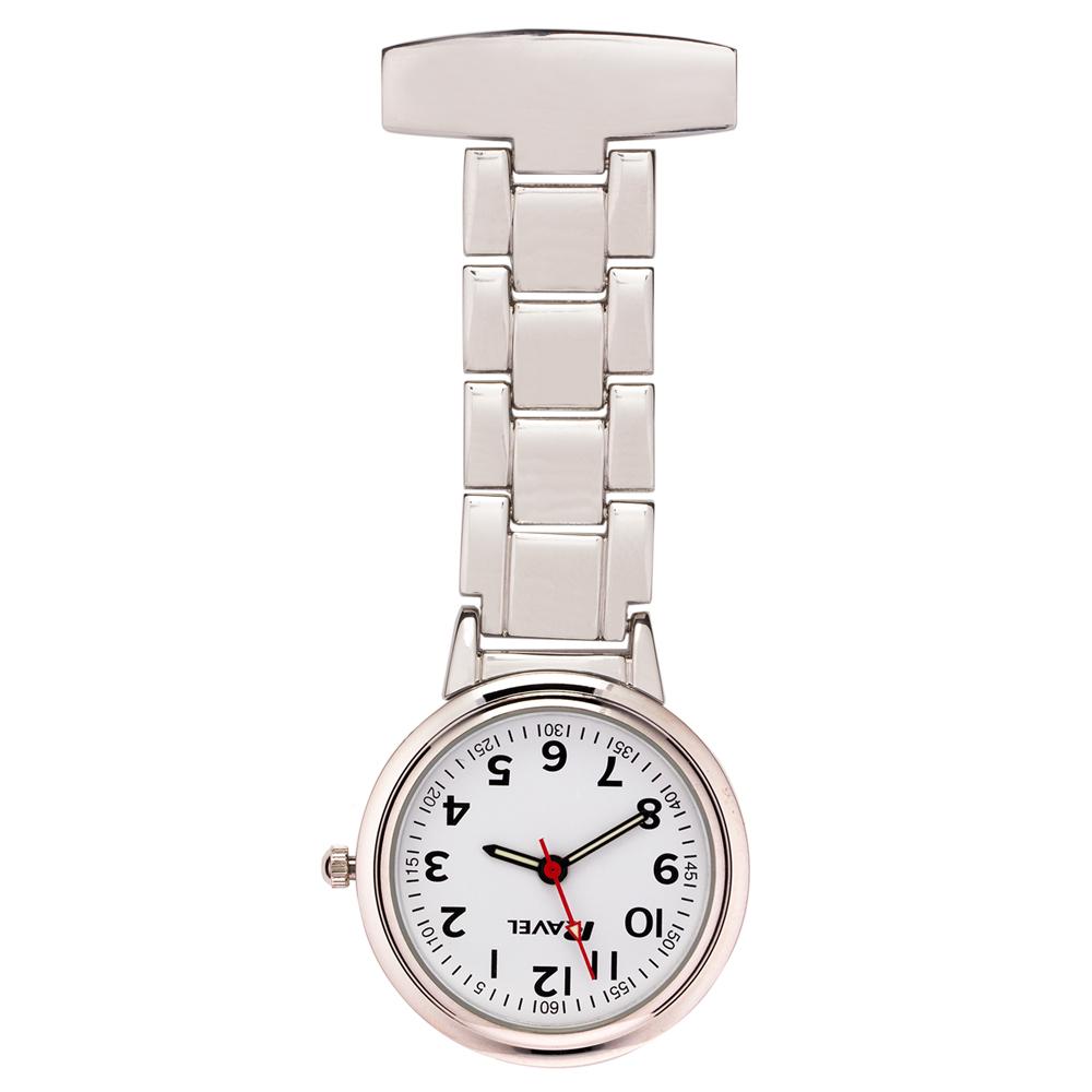 silver customised nurses timepiece