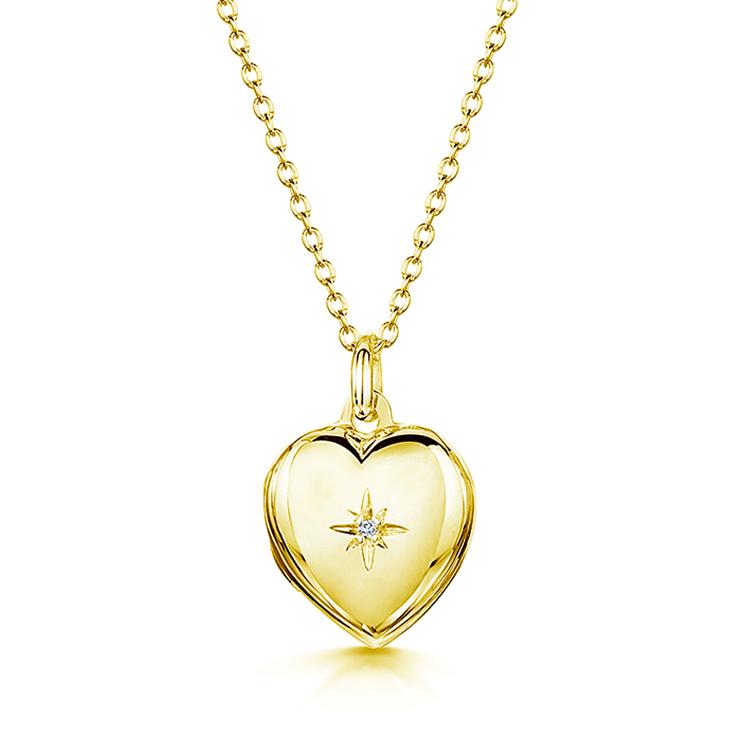 Diamond-heart-locket-gold-front-BIG