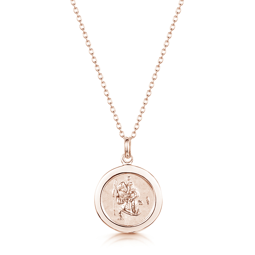St-Christophers-personalised-necklace-rose-gold