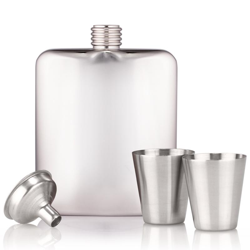 personalised stainless steel handmade hip flask