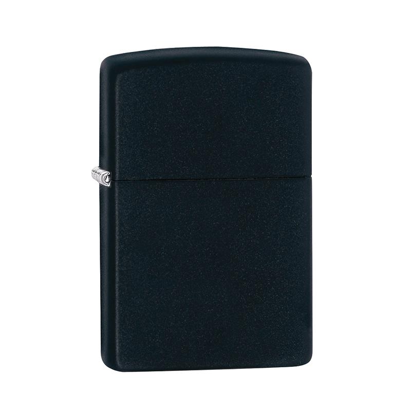 matte black zippo lighter personalised