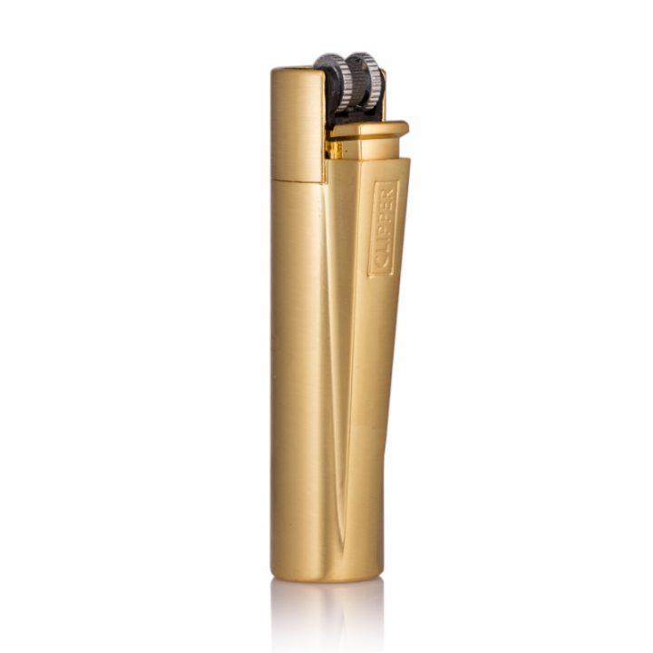 gold clipper lighter engraved