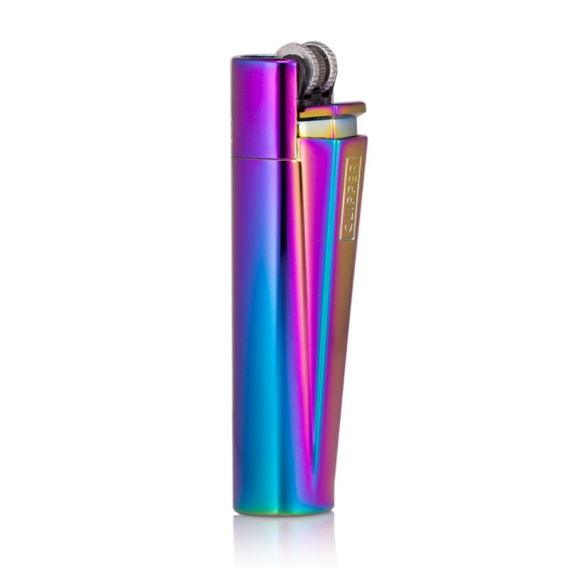 engraved clipper rainbow lighter