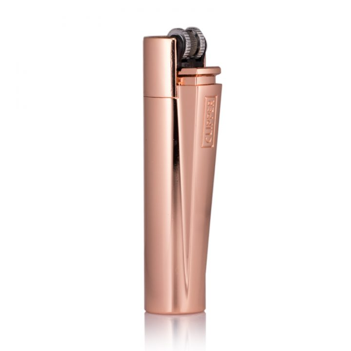 rose gold clipper lighter engraved