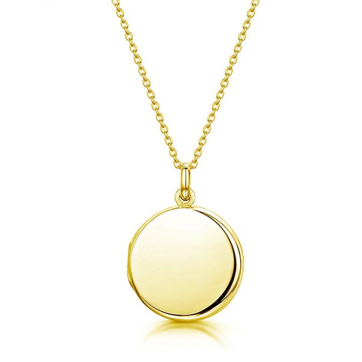 round-locket-GOLD-front
