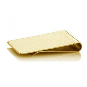 Brushed-Brass-Personalised-money-clip-hero