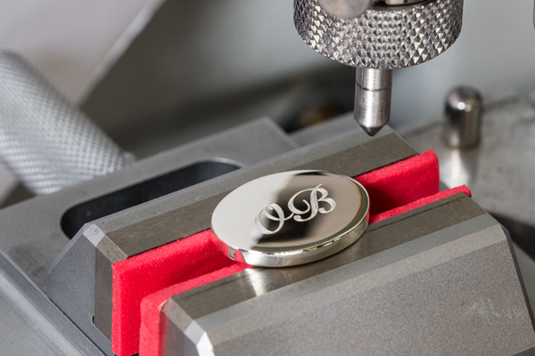 Precision Engraved Cufflinks image