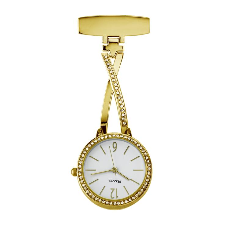 Ravel-personalised-ribbon-nurses-watch-gold2