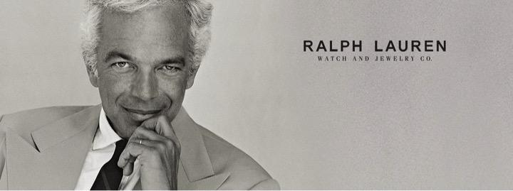 Ralph Lauren engraved watch