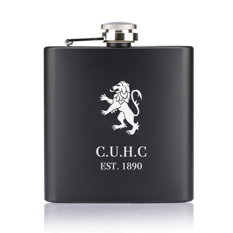 CUHC-black-hip-flask