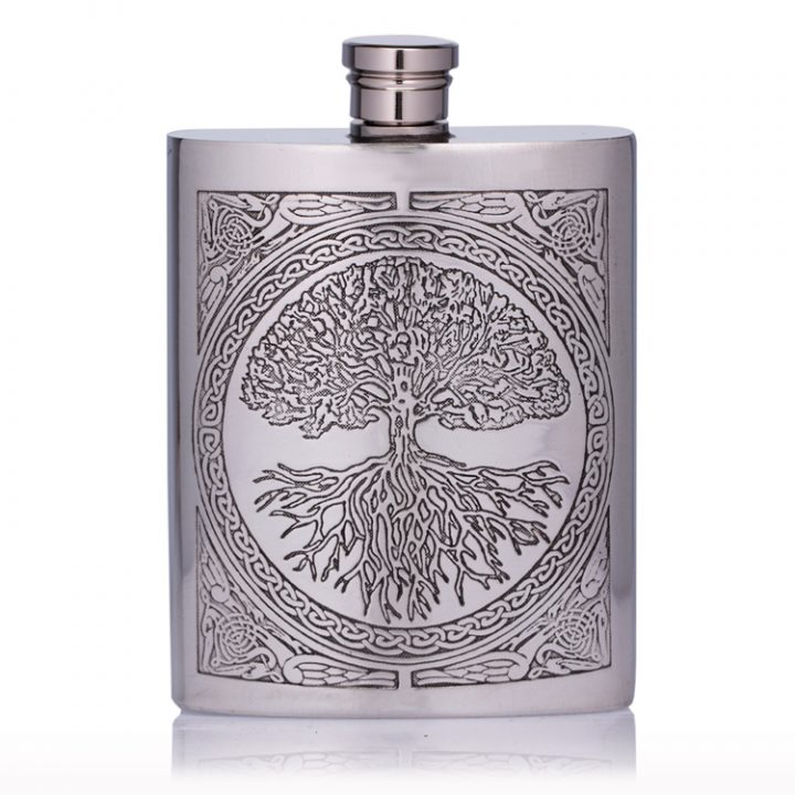 Personalised-Celtic-Hip-Flask
