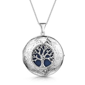 large-tree-of-life-engraved-locket-silver-front
