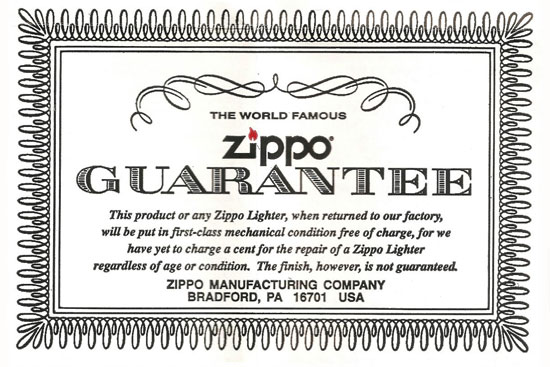 1. Lifetime Warranty image
