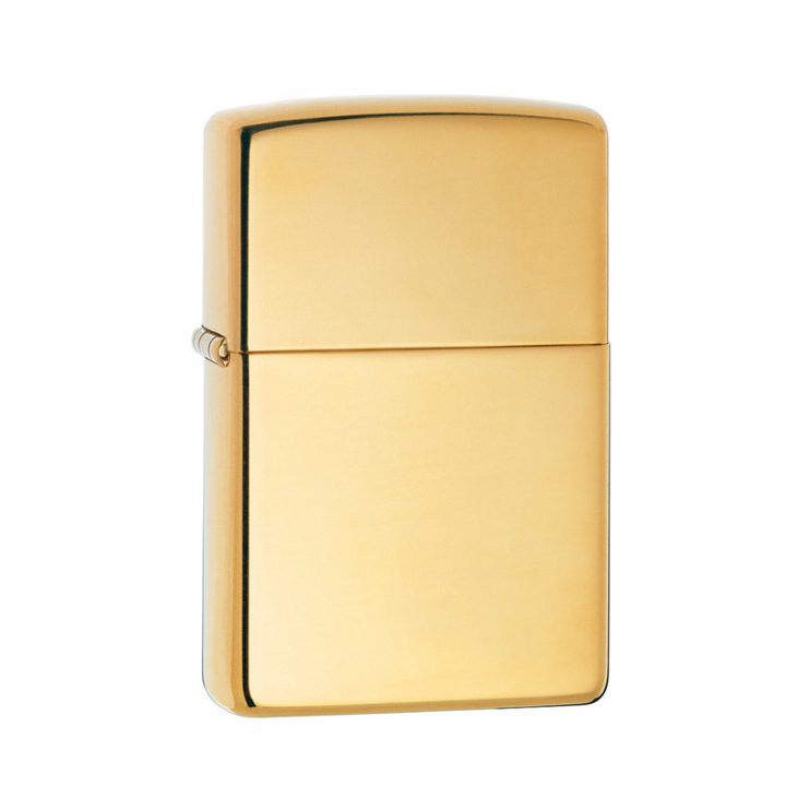 zippo-polished-brass-personalised-lighter