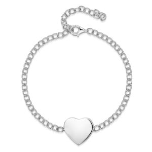 heart-chain-bracelet-engraved