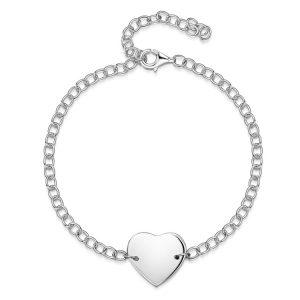 personalised-bracelet-heart-chain-full