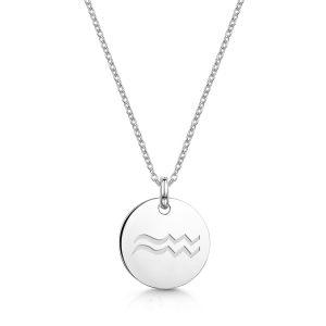 Zodiac-Personalised-Necklace-Aquarius