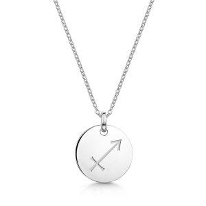 Zodiac-Personalised-Necklace-Sagitarius