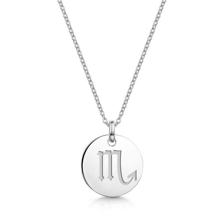 Zodiac-Personalised-Necklace-Scorpio