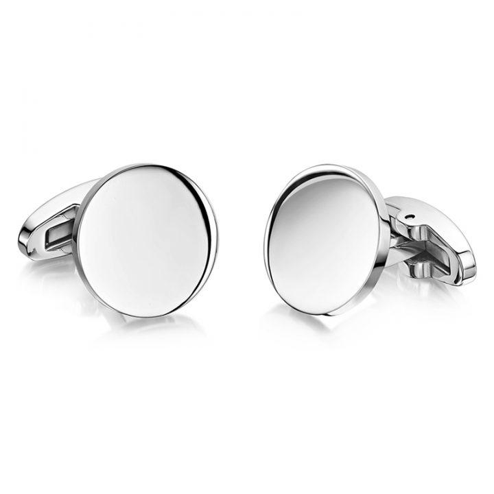 personalised-cufflinks-round