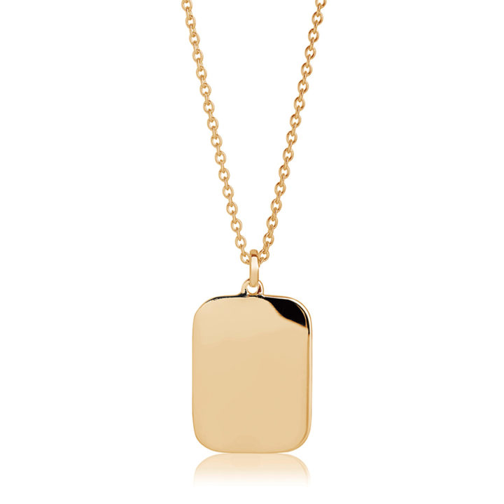 oblong-gold-personalised-necklace