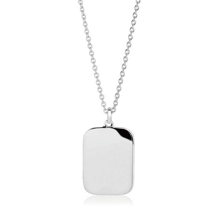 oblong-silver-personalised-necklace