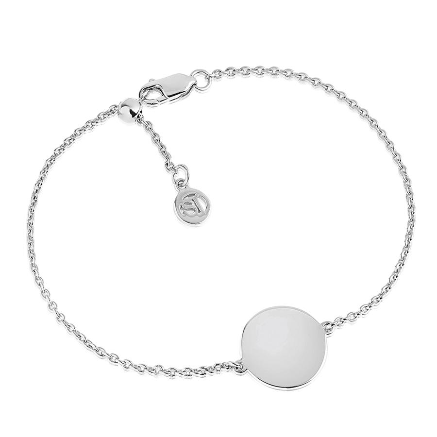 round-silver-bracelet
