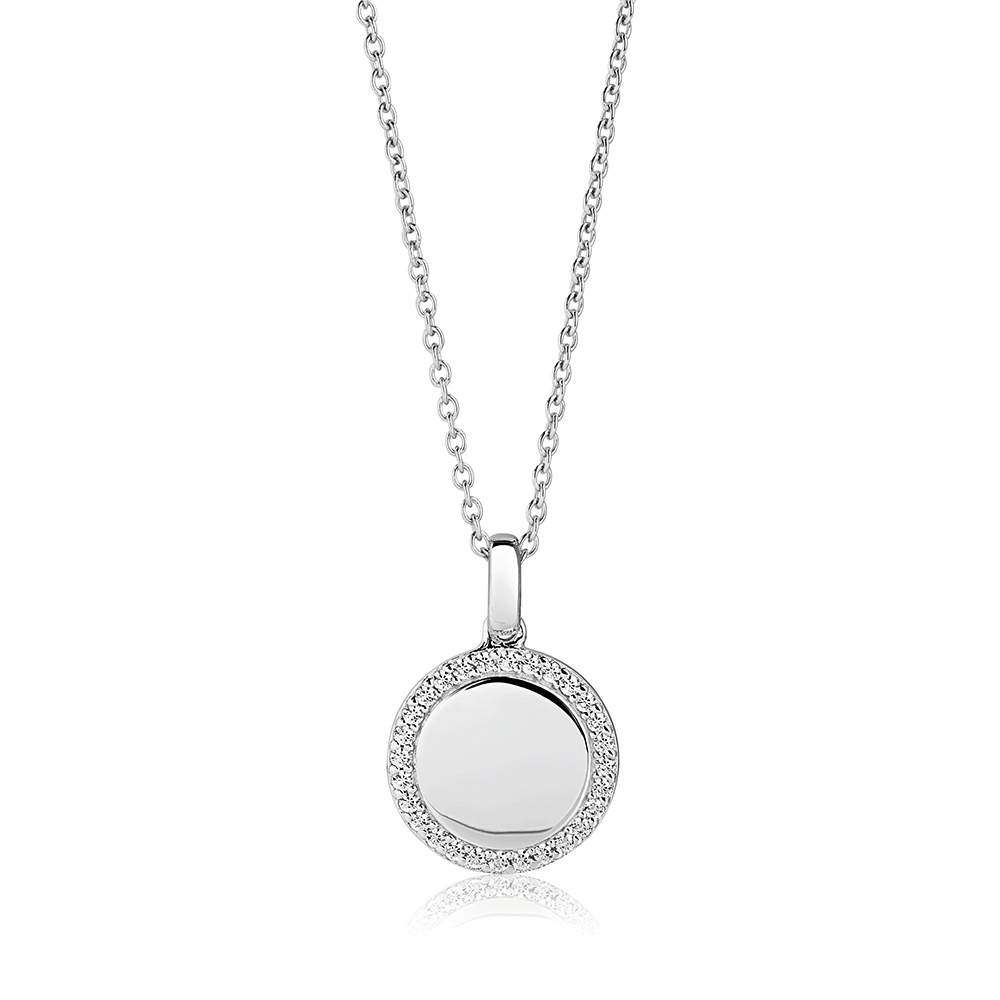 round-stone-set-silver-personalised-necklace