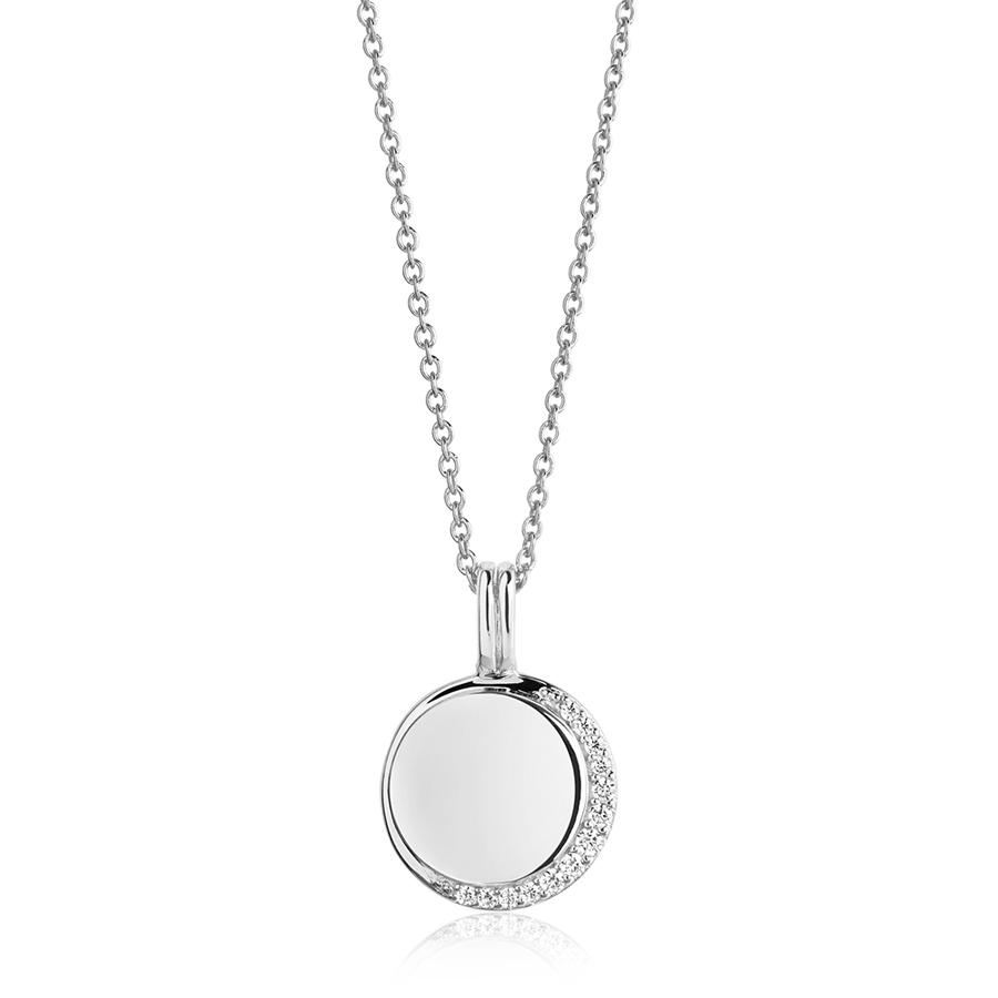 silver-half-moon-personalised-necklace