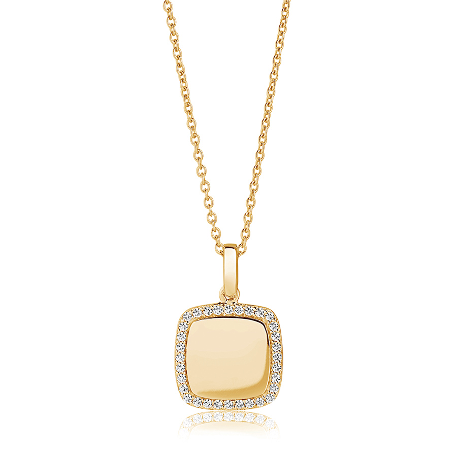 square-stone-set-gold-personalised-necklace