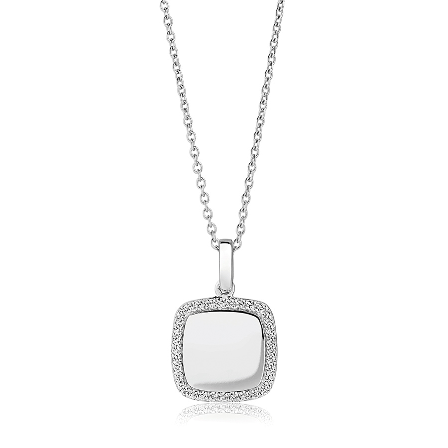 square-stone-set-silver-personalised-necklace