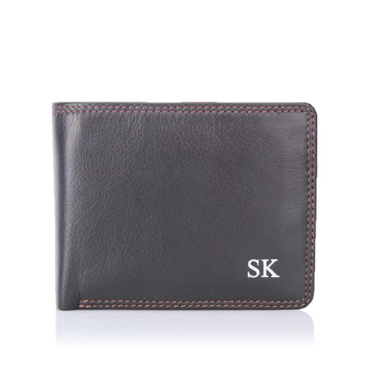 visconti-plain-brown-wallet-initials