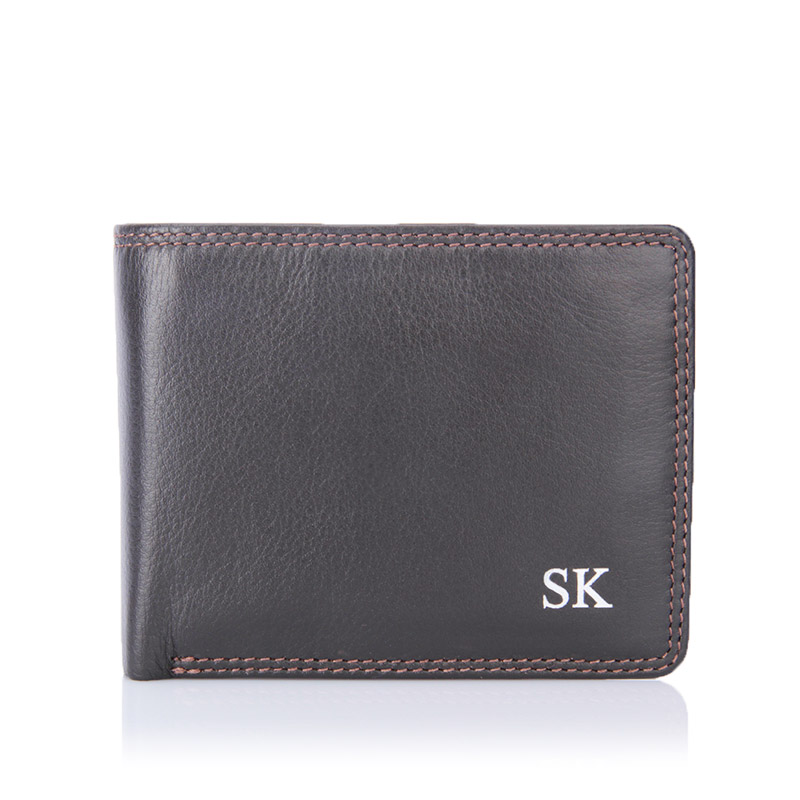 visconti-plain-brown-wallet-initials