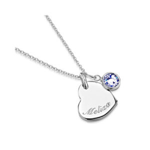 Personalised Birthstone Necklace