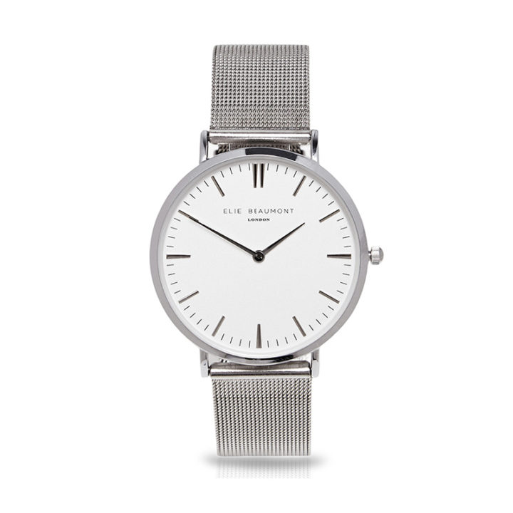 oxford-silver-mesh-ladies-watch