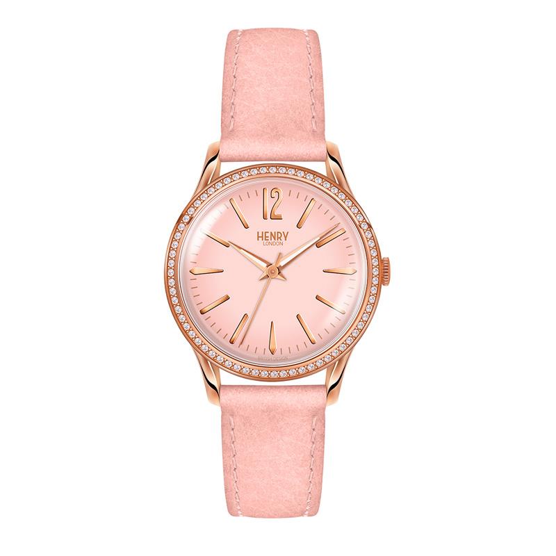 pink-diamante-engraved-ladies-watch