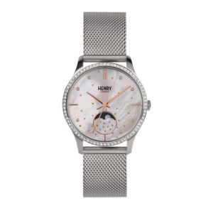 silver-moonphase-pearl-engraved-ladies-watch