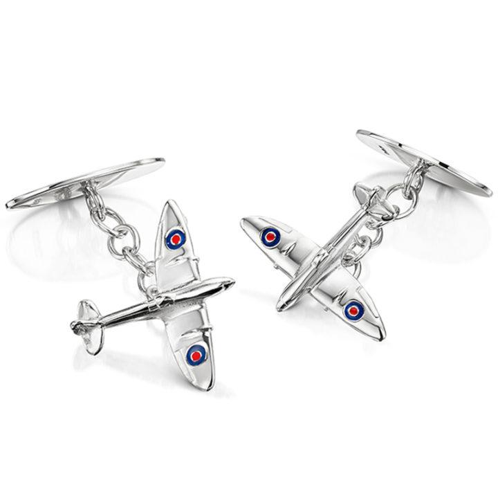 silver-spitfire-cufflinks