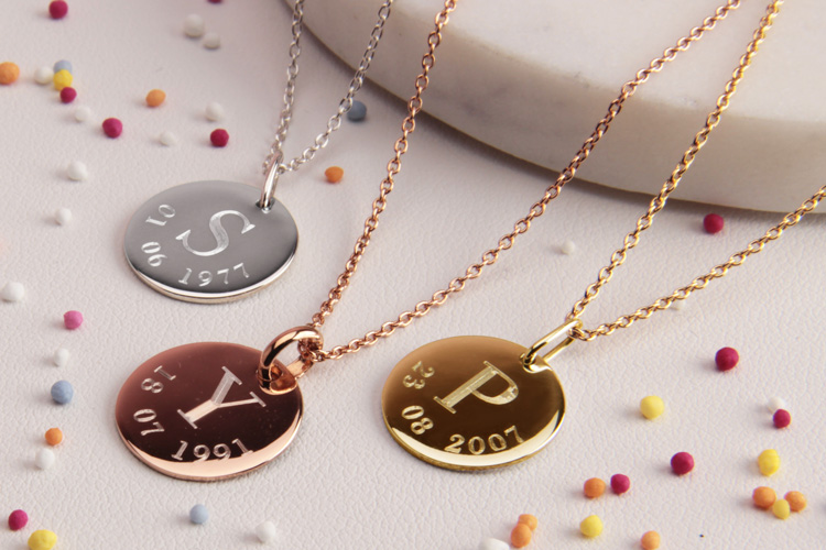 Beautiful Personalised Necklaces image