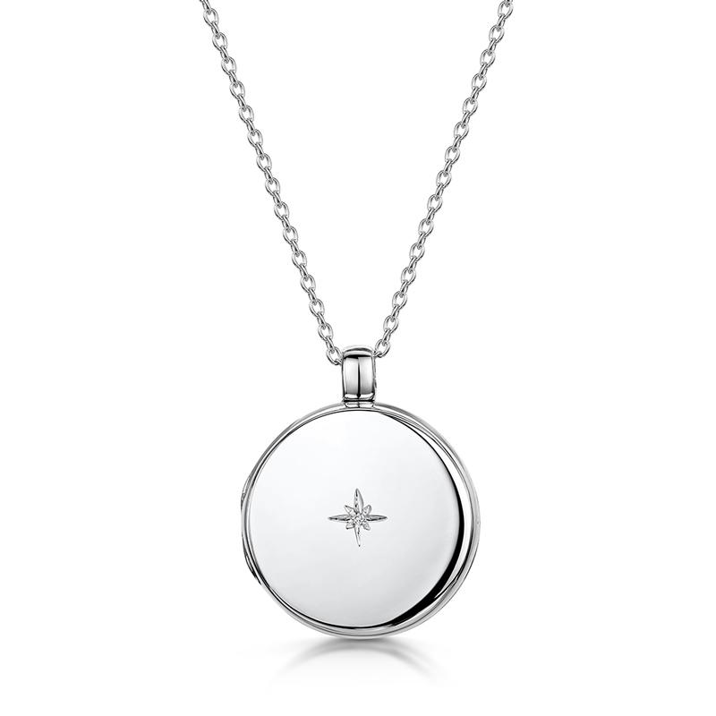 diamond-round-locket-silver