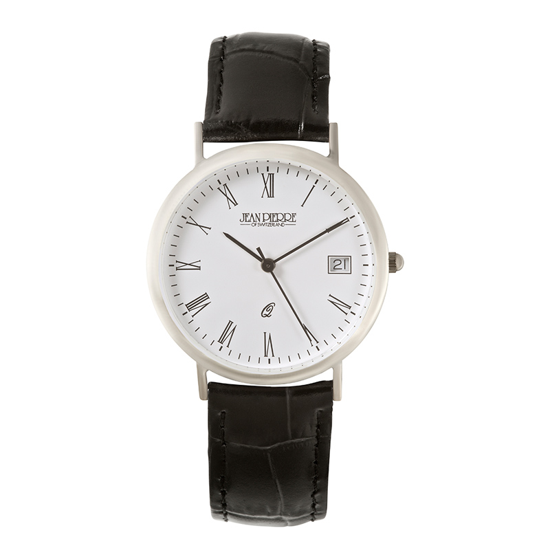 mens-silver-round-engraved-watch