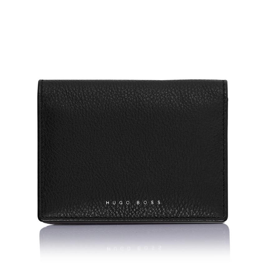 personalised-wallet-hugo-boss-cardholder-black-front