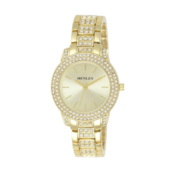 henley-diamante-engraved-ladies-watch-gold