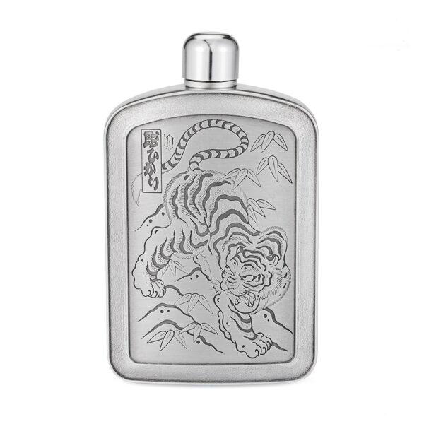 tiger-pewter-hip-flask-hero