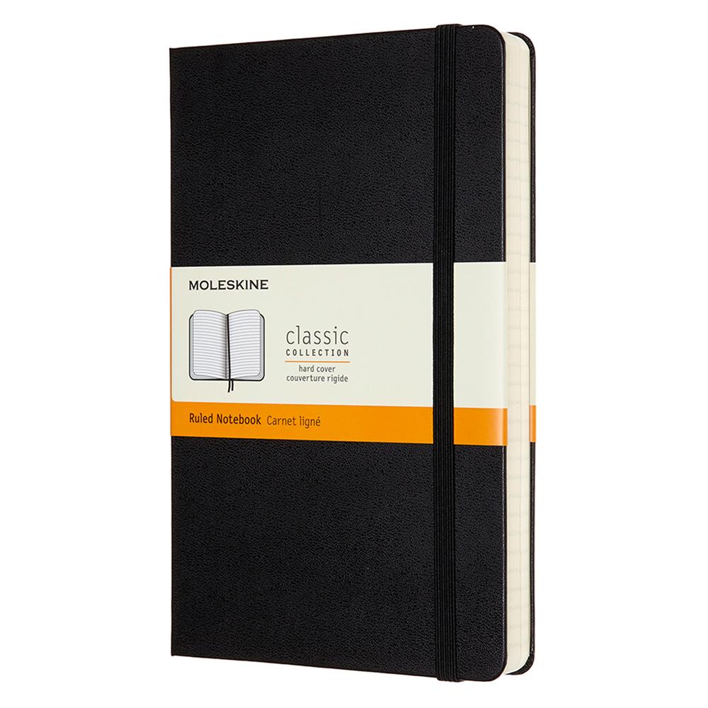 Extra-Large-Personalised-Notebook-Black