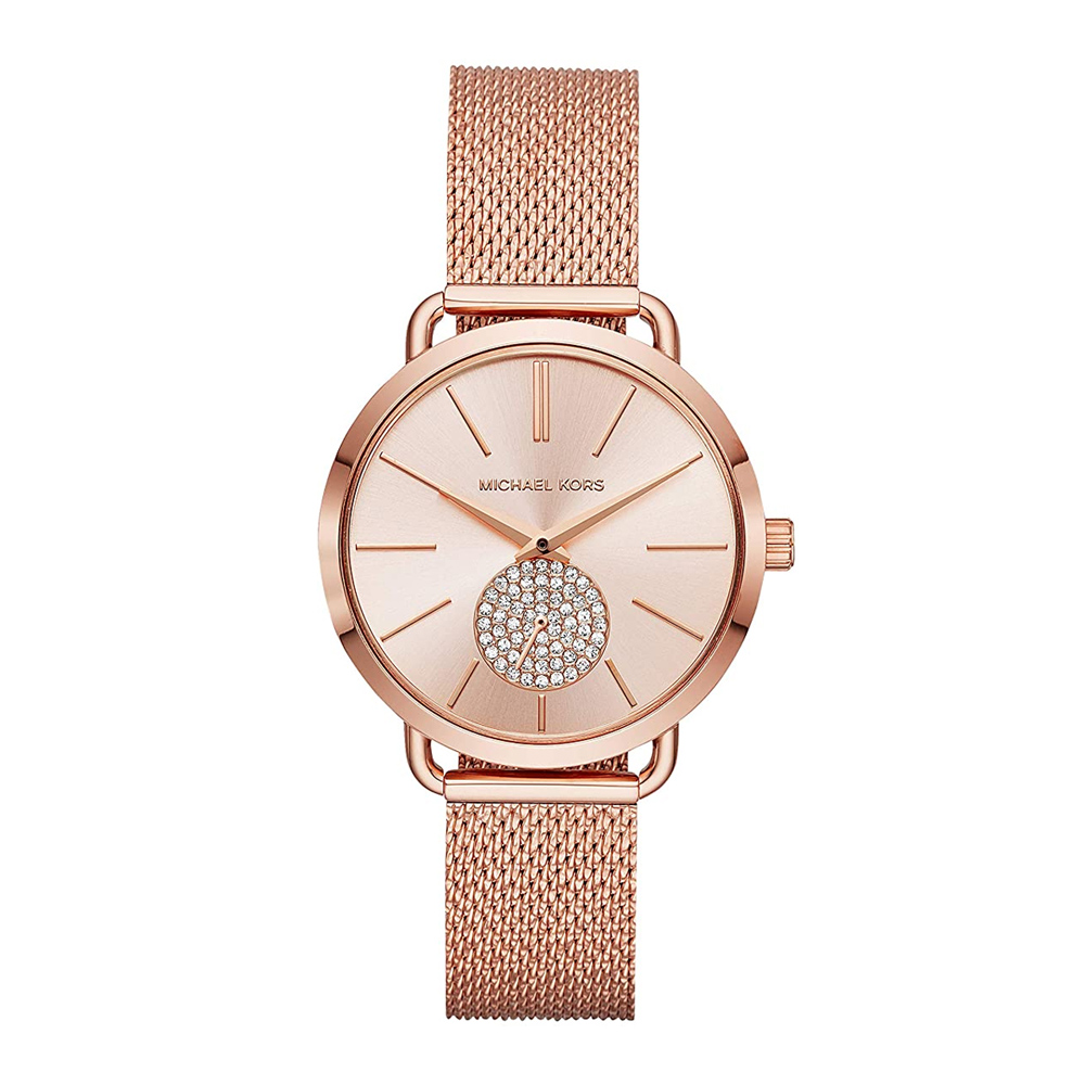 Michael-Kors-watch-ladies-rose-gold-mesh