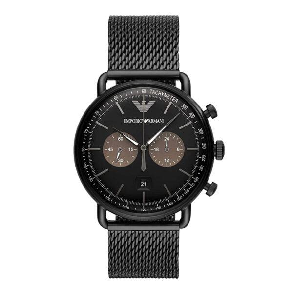 armani-mens-black-watch
