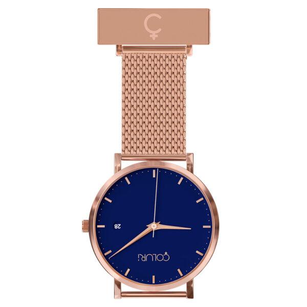 coluri-rose-mesh-nurse-fob-blue-dial